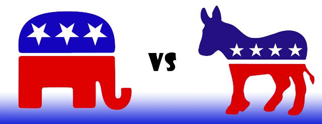 democratic  vs republican
