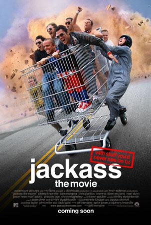 """Jackass poster"" by Source. Licensed under Fair use via Wikipedia - https://en.wikipedia.org/wiki/File:Jackass_poster.jpg#/media/File:Jackass_poster.jpg"