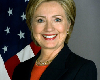 """Hillary Clinton official Secretary of State portrait crop"" by United States Department of State - Official Photo at Department of State page. Licensed under Public Domain via Commons"