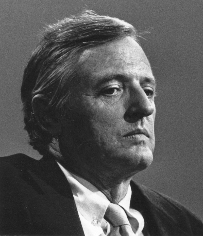 National Review Magazine founder William F. Buckley Jr. is seen in an undated handout photo. Writer and commentator William F. Buckley, a revered figure and intellectual force in the American conservative movement for decades, died on Wednesday at age 82, said the magazine he founded, the National Review. REUTERS/National Review (UNITED STATES). NO SALES. NO ARCHIVES. FOR EDITORIAL USE ONLY. NOT FOR SALE FOR MARKETING OR ADVERTISING CAMPAIGNS..