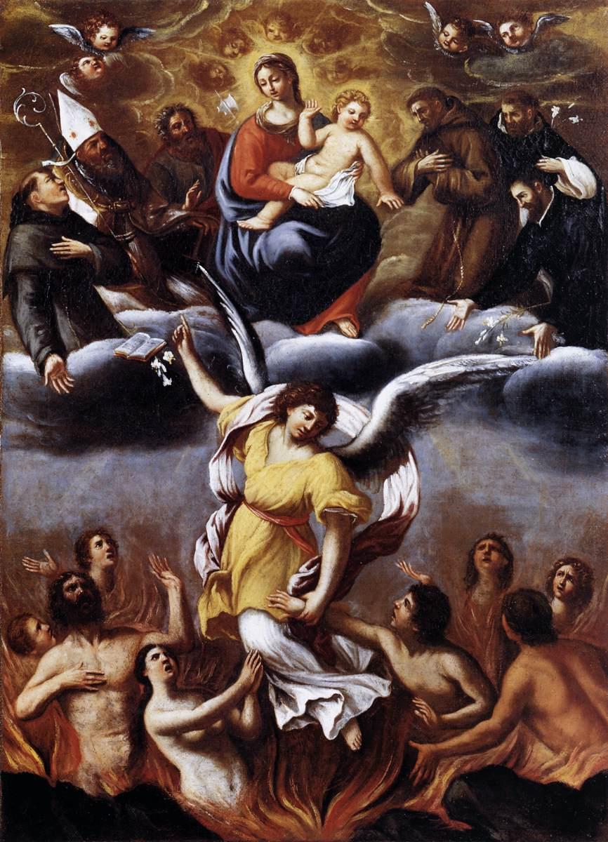 carracci-purgatory