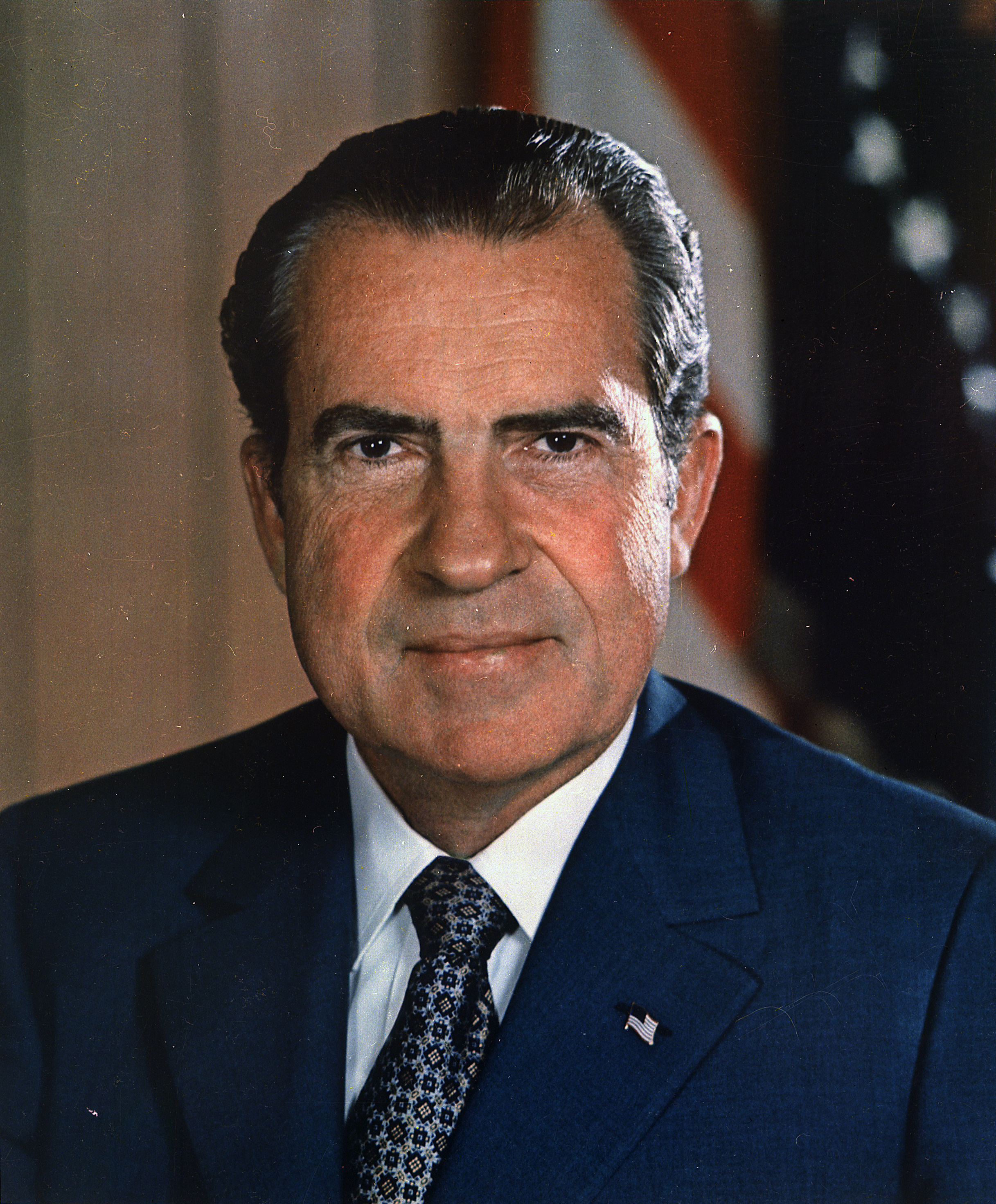Richard Nixon Headshot