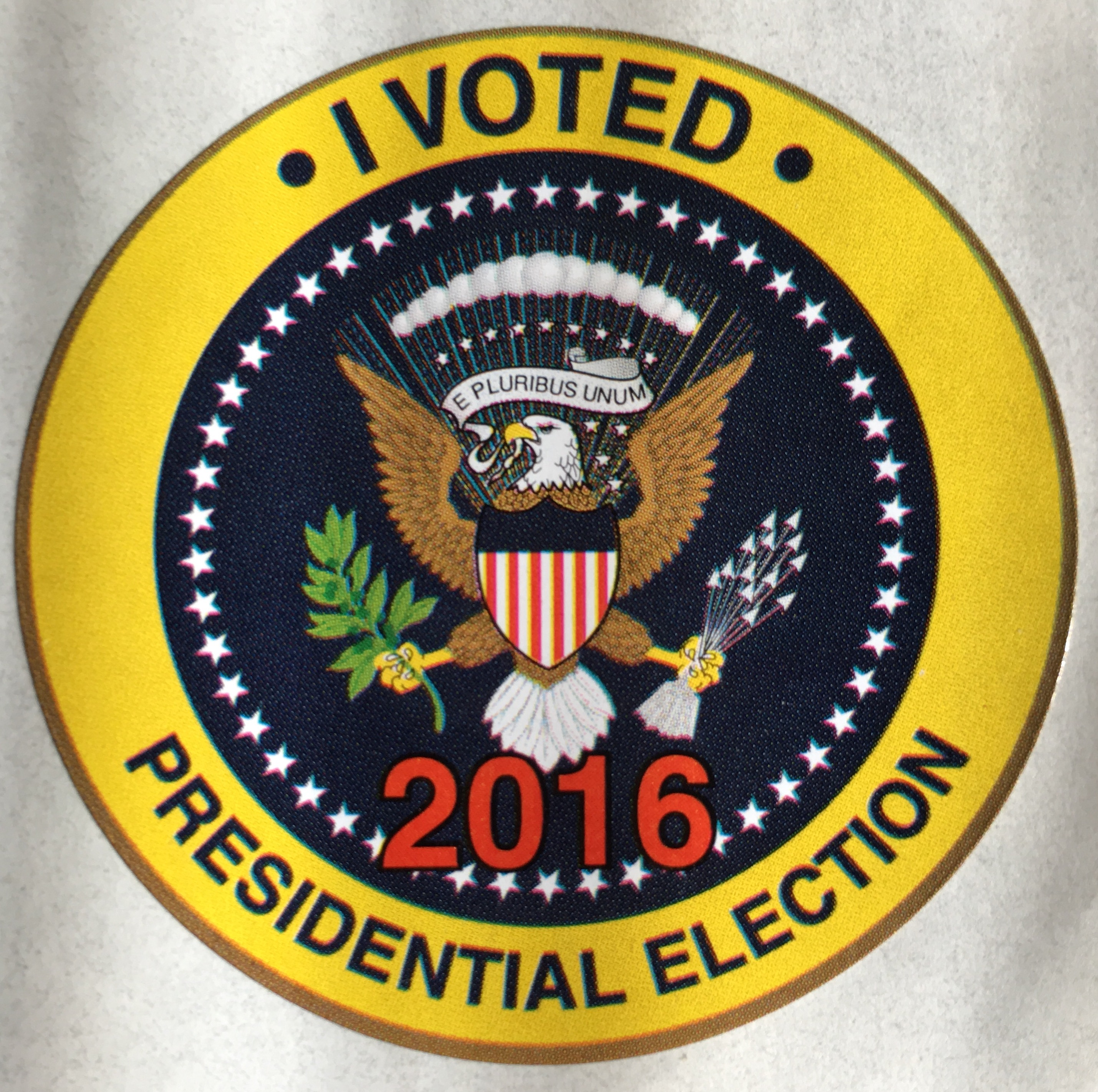 I Voted 2016 Sticker