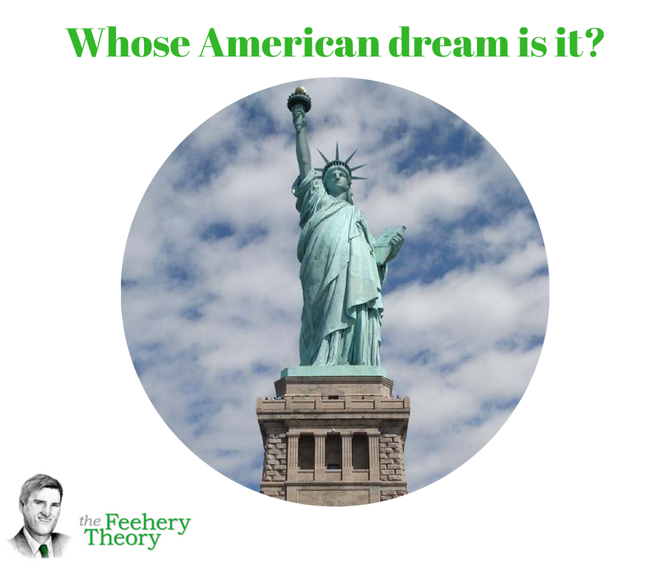 whose reality american dream - gatsby first strives to achieve the american dream through the mentorship of dan  whose attention he  fitzgerald uses characters in the novel to show the.