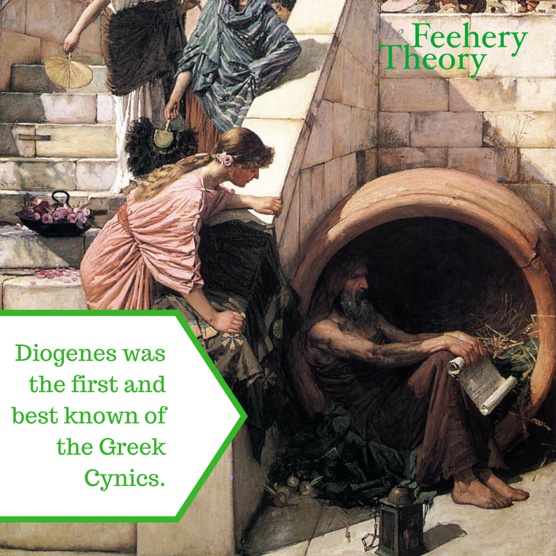 Diogenes at the Waterhouse