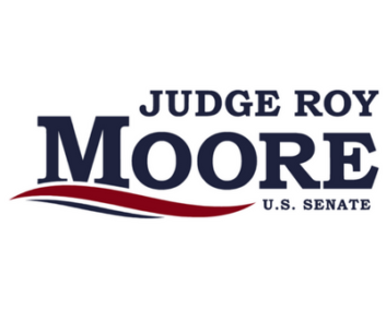 Roy Moore campaign sign 2017