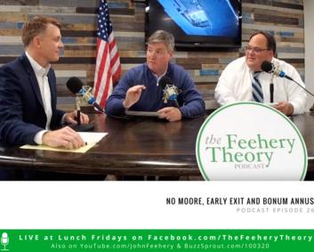John Easton, John Feehery, and Adam Belmar host The Feehery Theory Podcast